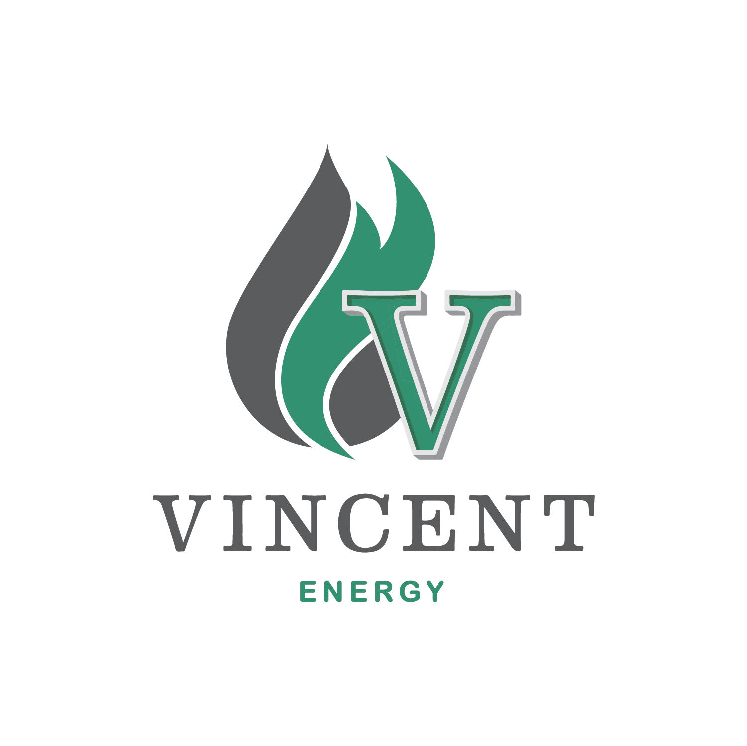 Vincent Energy Square Logo