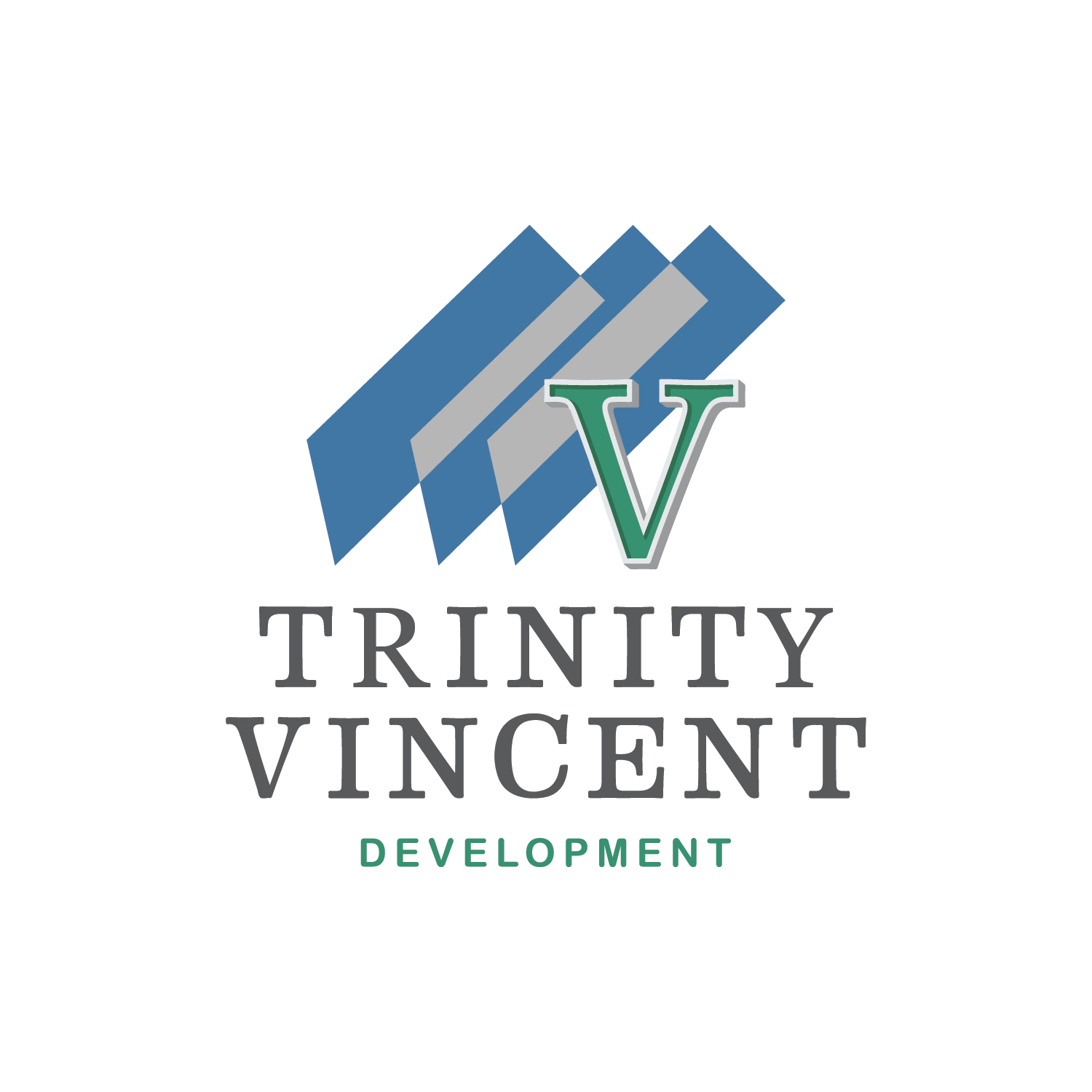 Vincent Trinity Development Square Logo