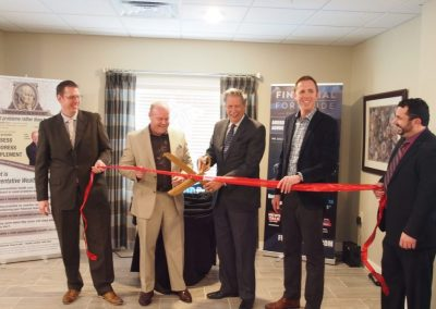 Vincent Real Estate, Yorkshire of Edina Grand Opening