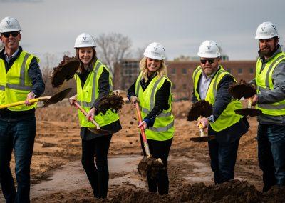 Vincent Real Estate, Boulder Ponds Assisted Living Groundbreaking