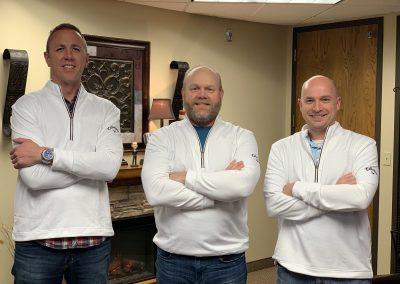 Ryan Litfin, Dale Creed Francis & Joe Cegla
