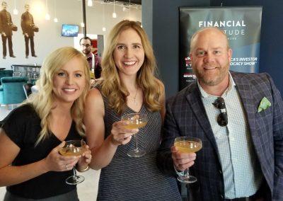 Anna Horton, Courtney Neuvirth & Dale Creed Francis